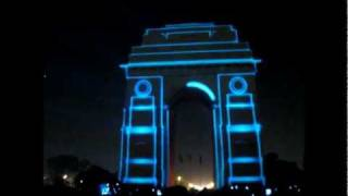 3D mapping on INDIA GATE