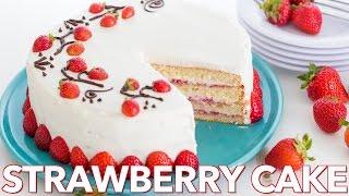 Dessert: Fresh Strawberry Cake - Natasha
