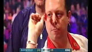 van Barneveld vs King Darts World Championship 2004 Quarter Final
