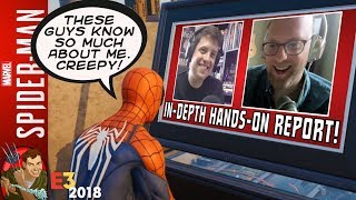 Spider-Man PS4 E3 2018 Chat - Hands-On Report From The Amazing Spider-Talk!