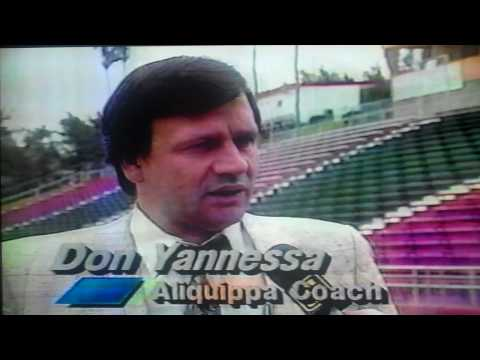WNEP TV HS Football Preview Berwick Bulldogs vs. Aliquippa Quips 1988