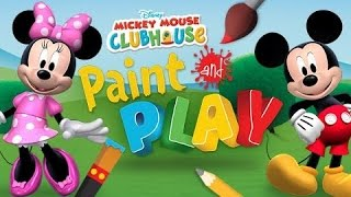 Mickey Mouse Clubhouse Paint and Play - Disney Games for Children