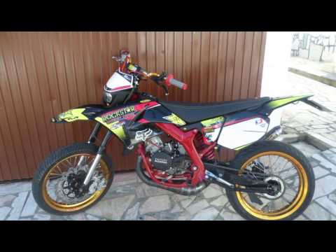 Project Yamaha DT50 X SWAP Engine Yamaha yz 85 kit Athena 112cc By BARacing