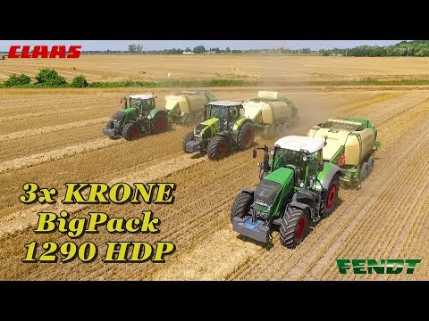 Xxx Mp4 3x KRONE Big Pack 1290 HDP 2x Fendt Claas 3x MAN Truck Manitou Bálázás 2018 3gp Sex