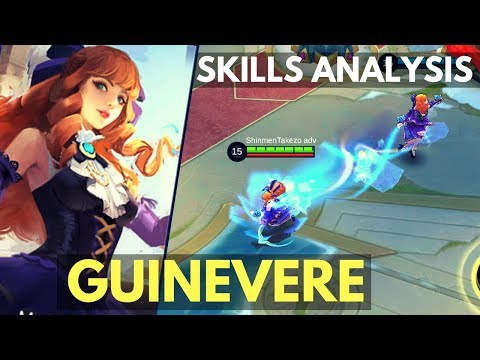 Xxx Mp4 GUINEVERE NEW MAGE FIGHTER HERO SKILL AND ABILITY ANALYSIS Mobile Legends 3gp Sex