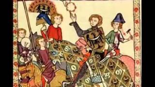 Guillaume Dufay - Chanson. - J'ai mis mon cuer  - Codex Manesse.