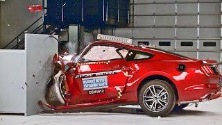 Ford Mustang (2016) Crash Tests [YOUCAR]