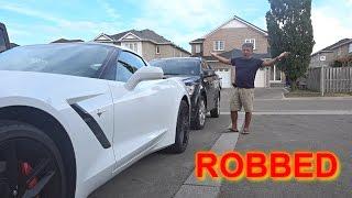 My Dad's Car got ROBBED