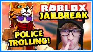 TROLLING POLICE!! 🔴 ROBBING THE BANK!   Roblox Jailbreak   Assassin