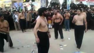 Nadeem Sarwar 2011 And Ferhan Ali Waris 2011 Zanjeer Zani in Karbala