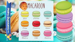 Macarons guessing game CHALLENGE CAFÉ - with Sweetie Fella Aleks 👨‍👩‍👧‍👦