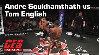 CES MMA XXVI: ANDRE SOUKHAMTHATH Vs TOM ENGLISH