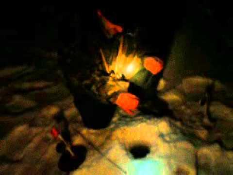 видео ловля ночью на жерлицы