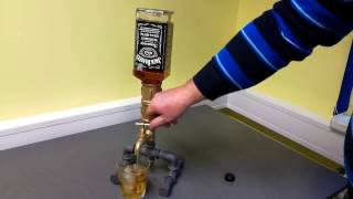 The Whiskey, Liqour, Wine Dispenser With Bottles