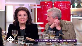 Au dîner avec Anouk Aimée et Claude Lelouch ! - C à Vous - 21/05/2019