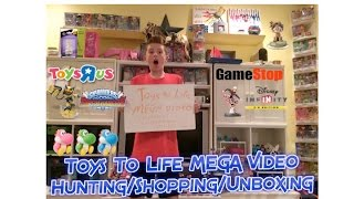 Skylanders Superchargers/Disney Infinity 3.0/Amiibo/Lego Dimensions MEGA Shopping/Hunting/Unboxing