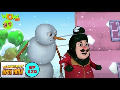 Snow Man Motu Patlu in Hindi WITH ENGLISH SPANISH & FRENCH SUBTITLES