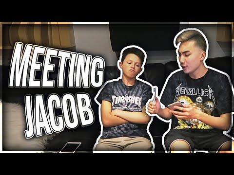 Meeting Jacob Sartorius for the first time!!!