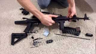 AK-74 up close, Full take down and Reassembly