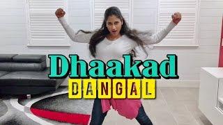 Dhaakad - Dangal   (Dance + DubsmashPanti )   #FilmySneha