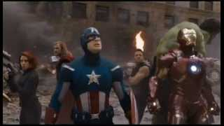 THE AVENGERS - I'm Always Angry / Assemble Scene!