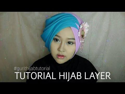 Tutorial Hijab Layer   Gurit Mustika