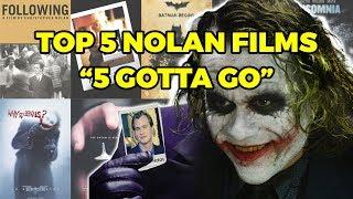 Top 5 Christopher Nolan Movies: 5 Gotta Go, Dunkirk Discussion