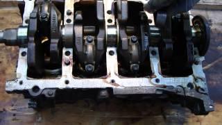 How engine crankshaft works
