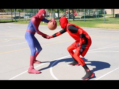 Xxx Mp4 Spiderman Vs Deadpool Basketball SuperHero Basketball 3gp Sex