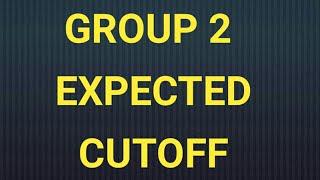 Group 2 cutoff
