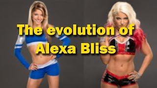 WWE-The evolution of Alexa Bliss