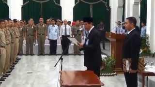 Pelantikan Pejabat PPNS Provinsi Jawa Barat