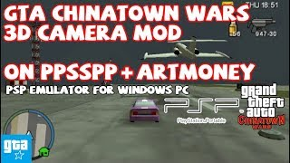 GTA CTW PSP Cwcheat 02 3D Camera Mod