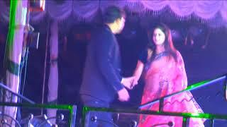 Chandan & Lisha. Dance in stage. Tate gaidele tu Gita hei jau....
