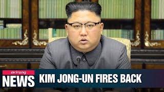 Kim Jong-un makes unprecedented statement at Trump as N. Korea suggests future ...