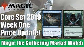 MTG Market Watch: Core Set 2019 Week One Price Update