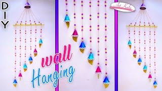 Newspaper wall hanging | Newspaper crafts | Wall Decor | Best out of waste | Artkala 152