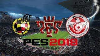 Spain vs Tunisia International Friendly match HD Pes 2018