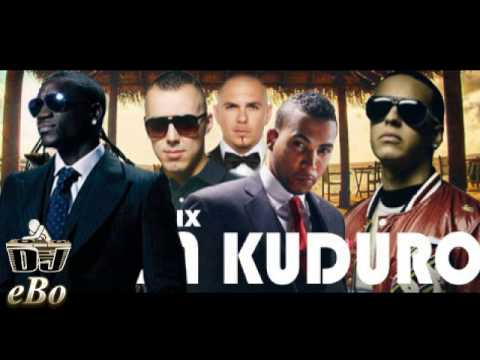 Don Omar Ft. Lucenzo Daddy Yankee Akon & Pitbull Danza Kuduro Remix