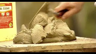 How to Lay Bricks Part 2: Mixing The Mortar