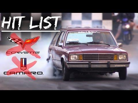 Grandpa Station Wagon Dusts Corvette, Camaro, More!