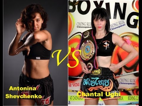 Antonina Shevchenko VS Chantal Ughi Italy . Thai boxing. Thailand 2011