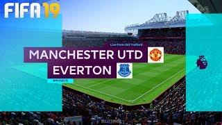 FIFA 19 - Manchester United vs. Everton @ Old Trafford