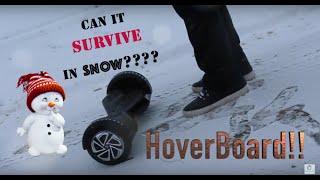 ❄️❄️Snow Test❄️❄️ - Hoverboard/Segway/Uwheel/ Self-Balancing ✅