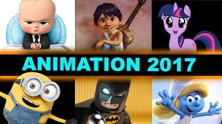 Animated Movies 2017 - Coco, Despicable Me 3, The LEGO Batman Movie, The Boss Baby, Cars 3