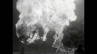 Hindenburg crash and Explosion Vintage full video