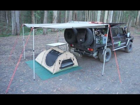79 Series Landcruiser and Swag Setup