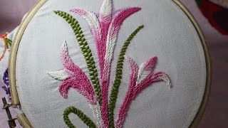 Hand Embroidery Designs | Basic embroidery stitches # Part-9 | Stitch and Flower-105