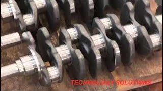 [Technology Video] Crankshaft Manufacturing , Flexible Machining System Fms