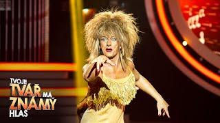 Petr Vondráček jako Tina Turner –